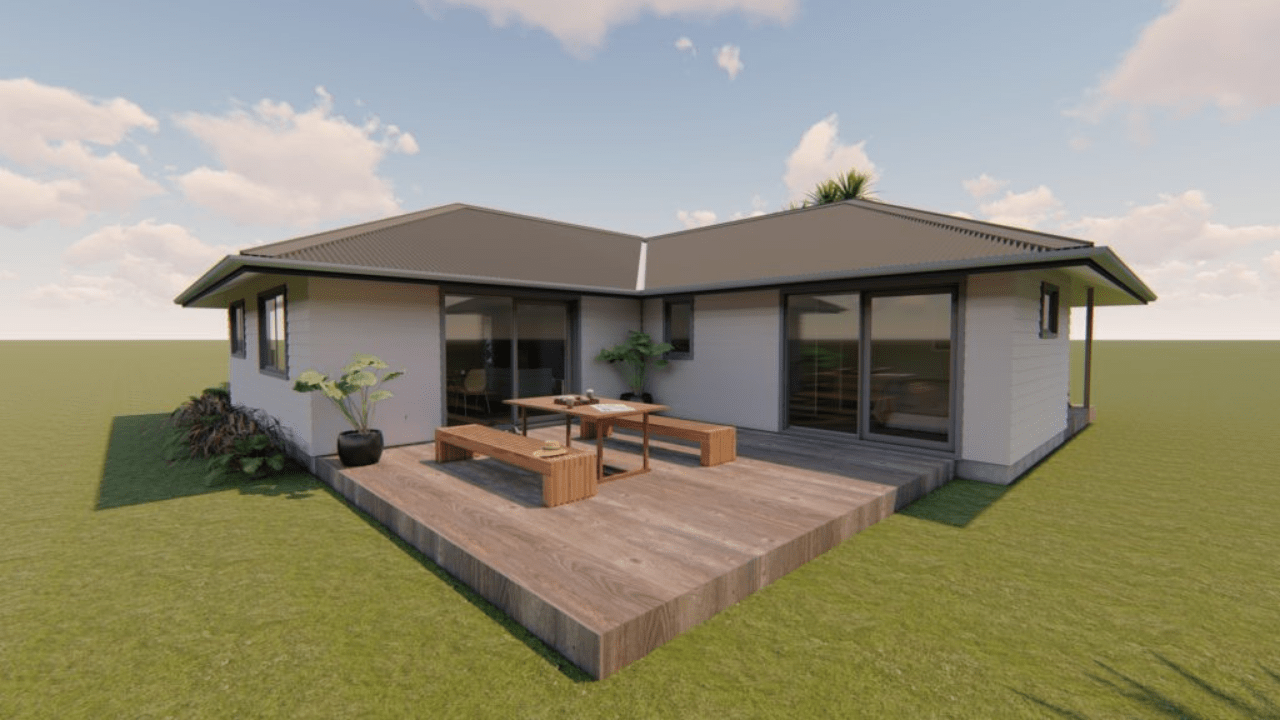 3160H - 3 bedrooms plan