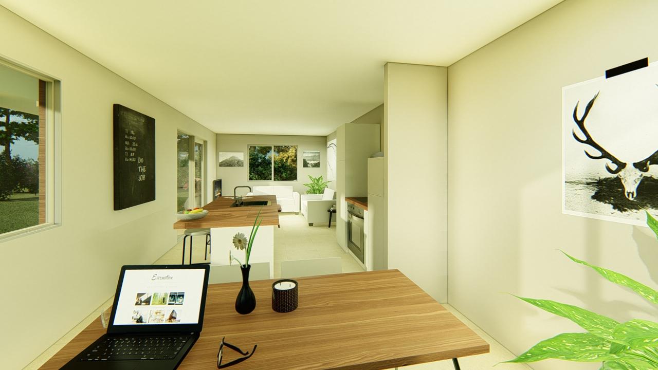 260G - 2 bedrooms plan