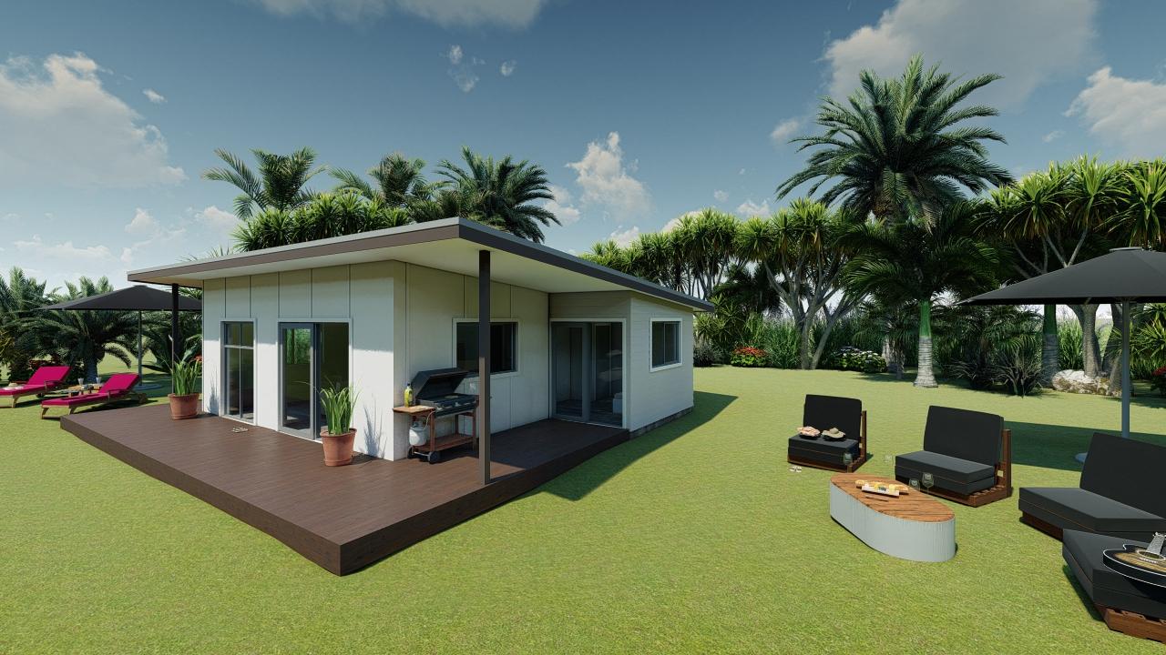 265M - 2 bedrooms plan