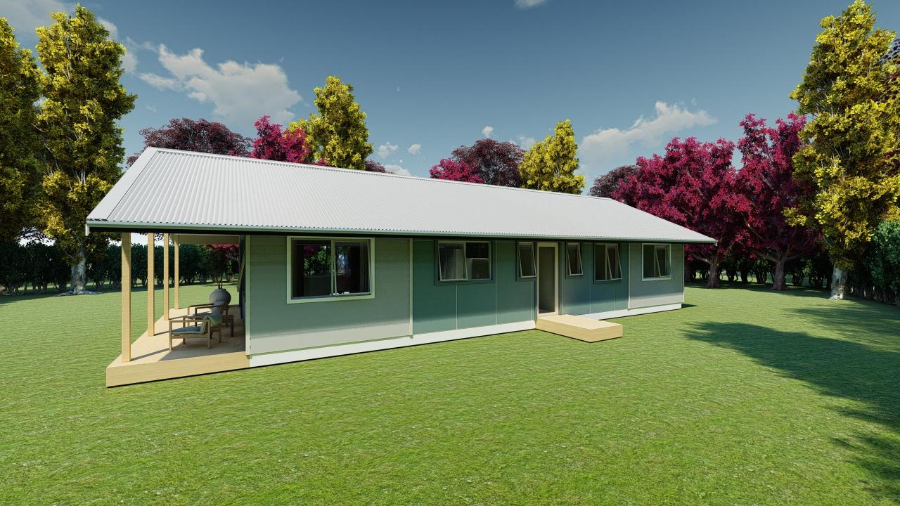 3104G - 3 bedrooms plan