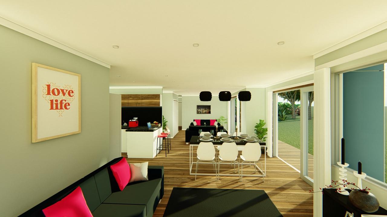 3112M - 3 bedrooms plan
