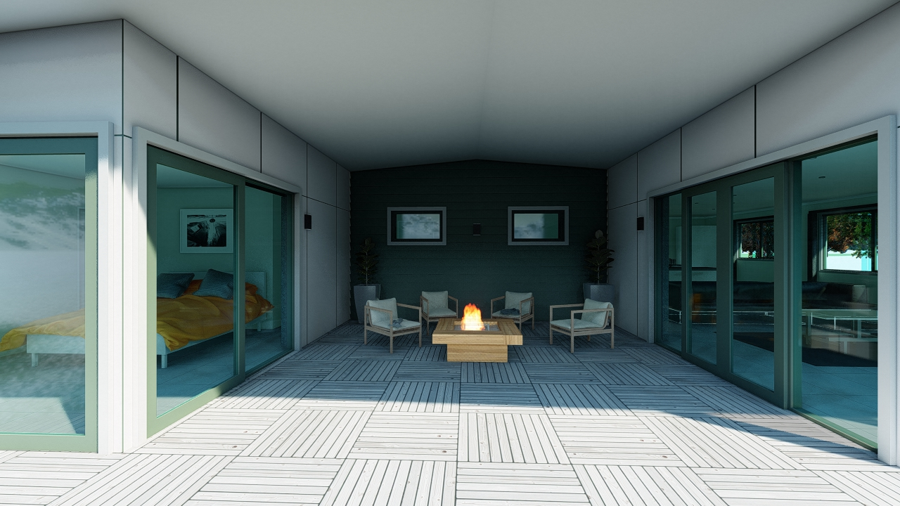3118G - 3 bedrooms plan