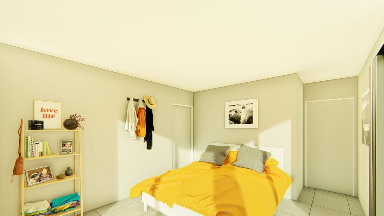 3118S - 3 bedrooms plan