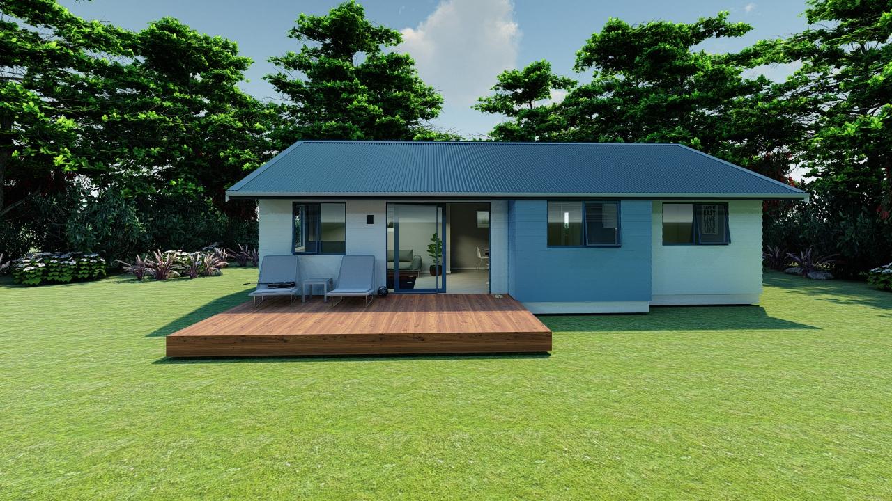 383GE - 3 bedrooms plan