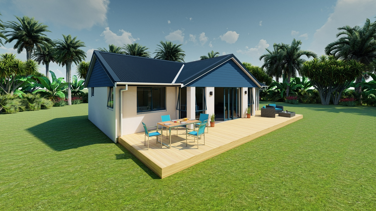 390GBT - 3 bedrooms plan