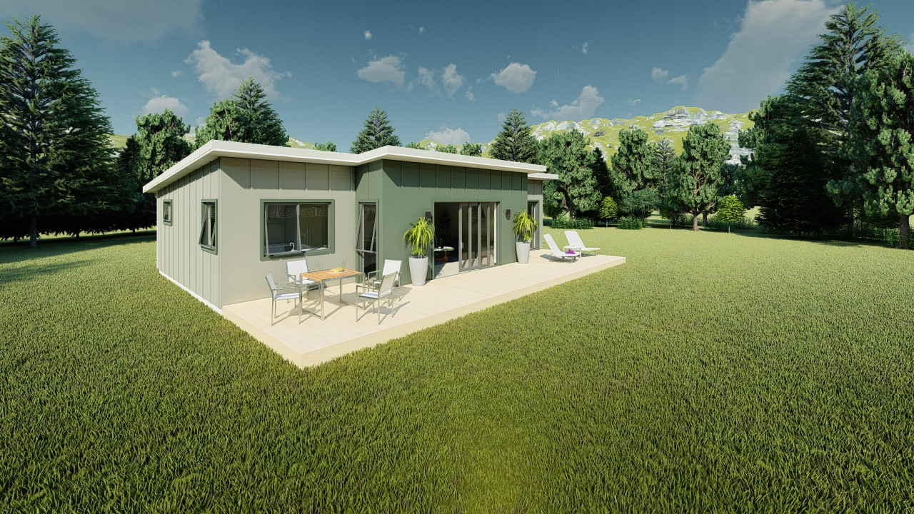 390ME - 3 bedrooms plan