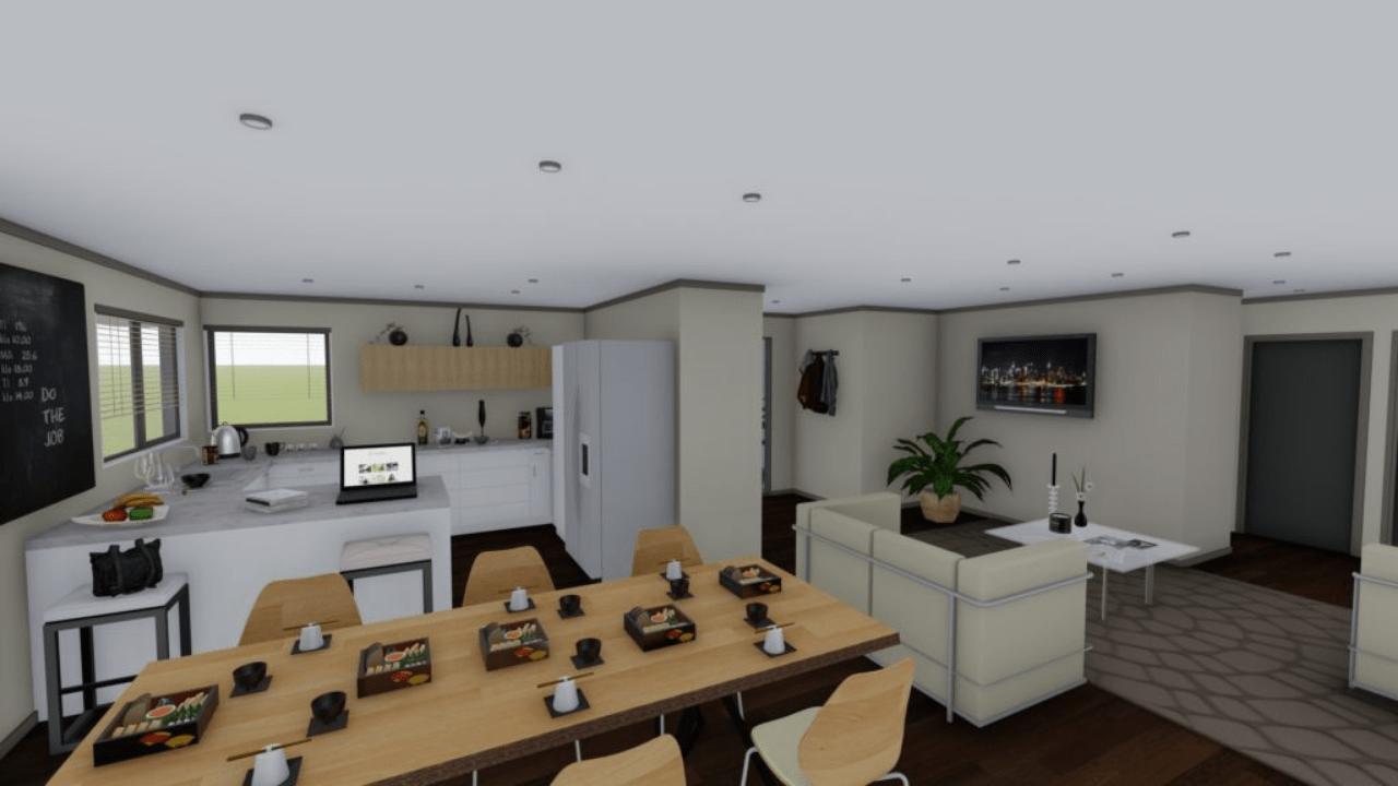 3160H - 3 bedrooms floorplan