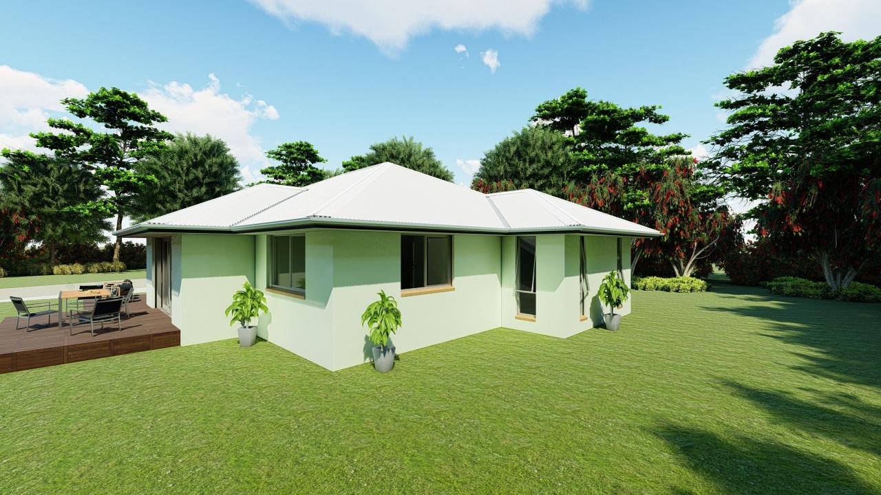 4211GBT- 4 bedroom plan