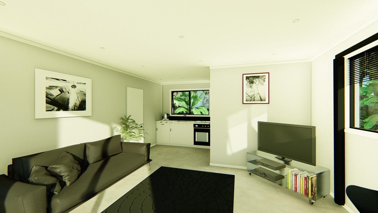 48GSE - 1 bedroom plan