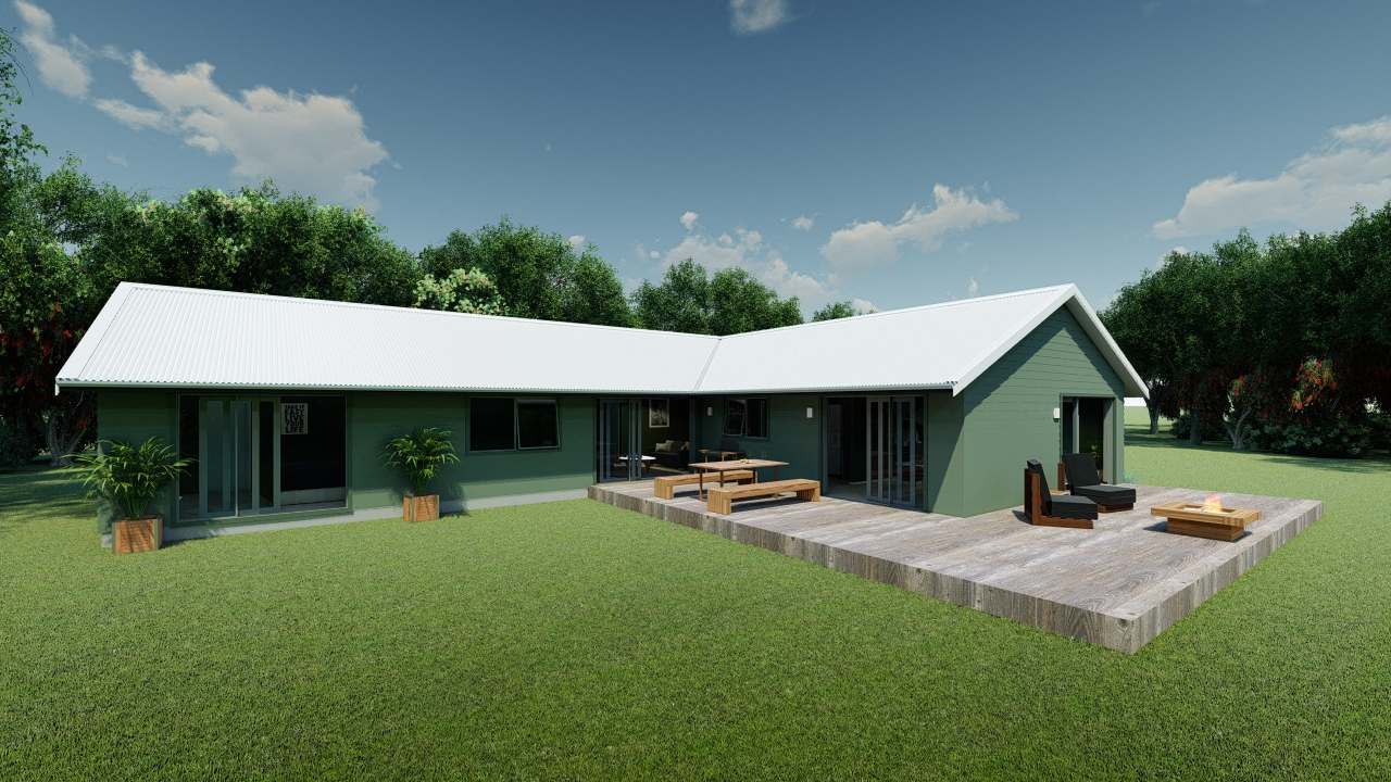 5 bedrooms house plan