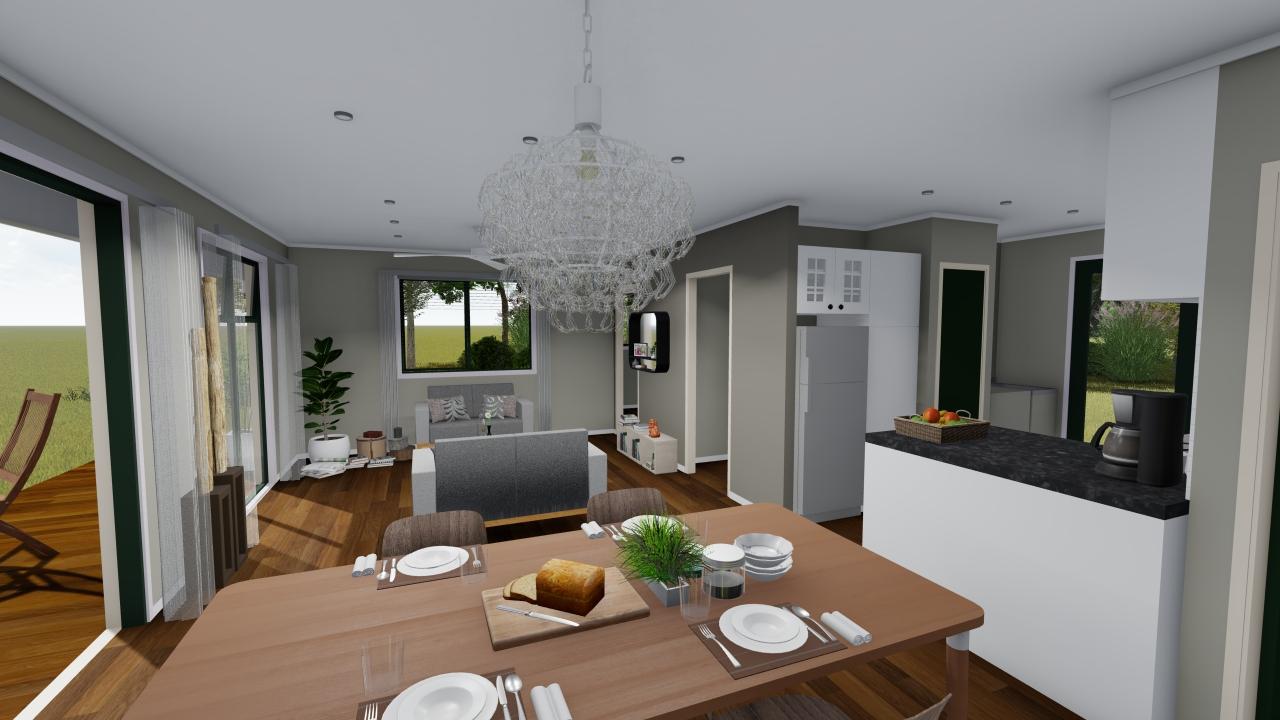 265G - 2 bedrooms plan